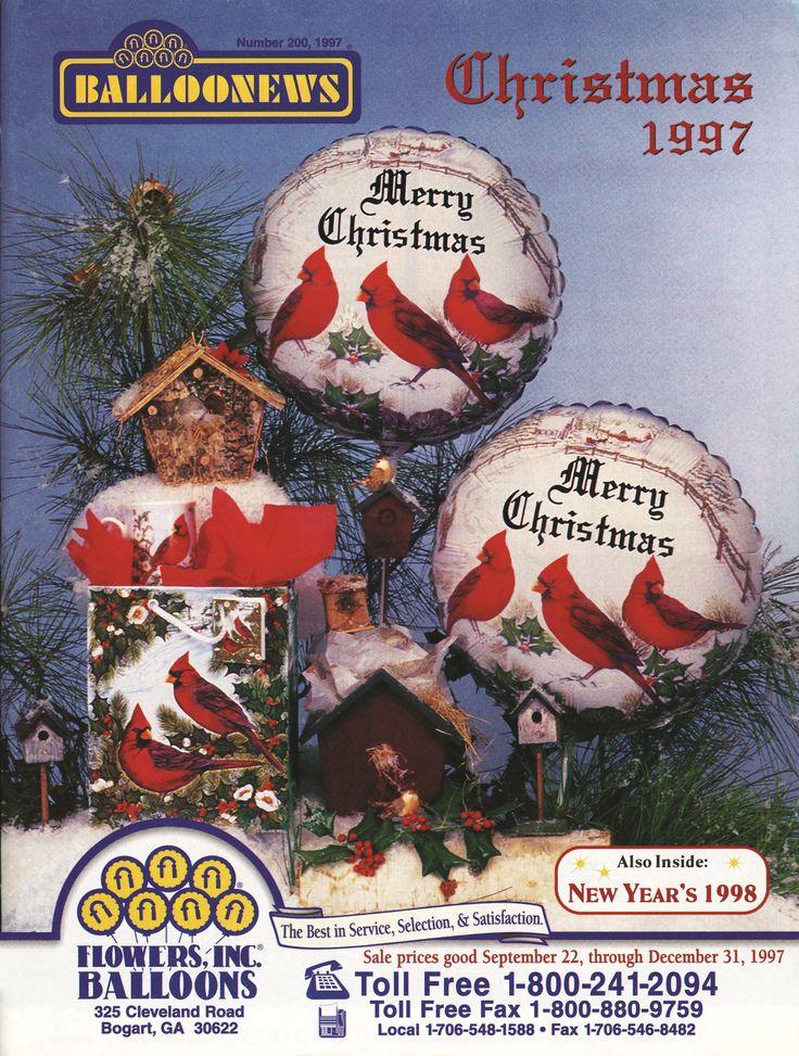 BALLONEWS: Christmas 1997 #burtonandburton #tbt