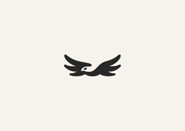 Tbilisi-based graphic designer George Bokhua has created a series of animal logos with the clever use of negative space.