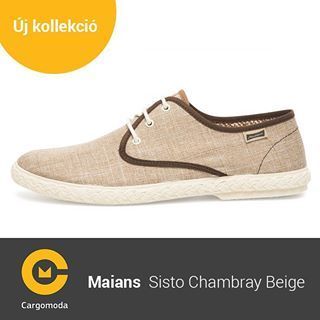 Maians Sisto Chambray Beige - Megérkezett az új tavaszi-nyári Maians kollekció! www.cargomoda.hu #cargomoda #maians #madeinspain #handcrafted #springsummercollection #spring #summer #mik #instahun #ikozosseg #budapest #hungary #divat #fashion #shoes #fash