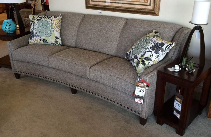 Modern curved sofa from Smith brothers Top Design - Popular smith brothers sofas Contemporary