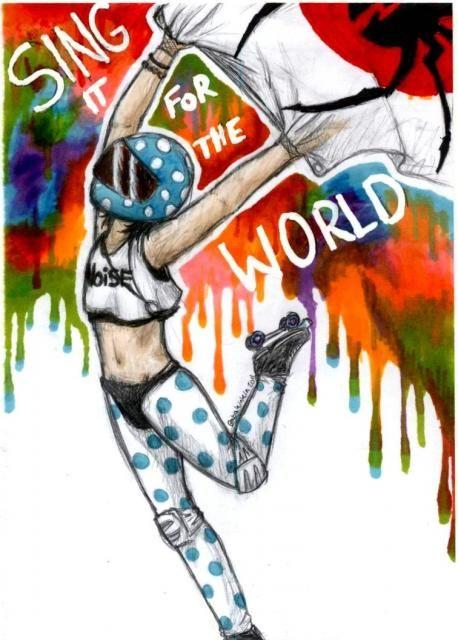 Sing | Danger Days: The True Lives of the Fabulous Killjoys | My Chemical Romance | MCR Lyrics & Fan Art