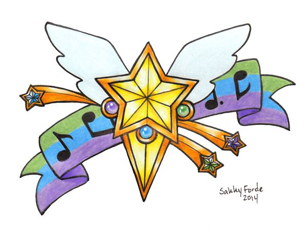 Sailor Starlights Tattoo Design by sakkysa.deviantart.com on @DeviantArt