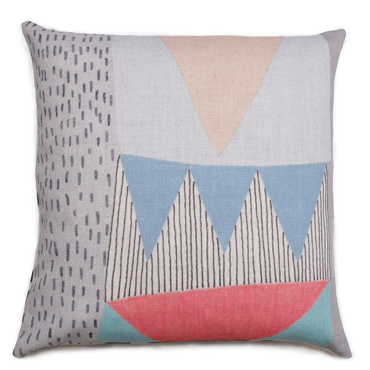 Under The Canopy cushion, linen, Lisa Lapointe – Sparkk Shop