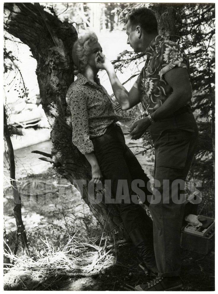 1953 / Divers moments sur le tournage du film River of no