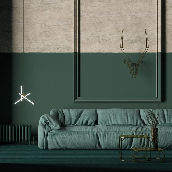 10x de leukste groene ruimtes van Pinterest - Alles om van je huis je Thuis te maken | HomeDeco.nl