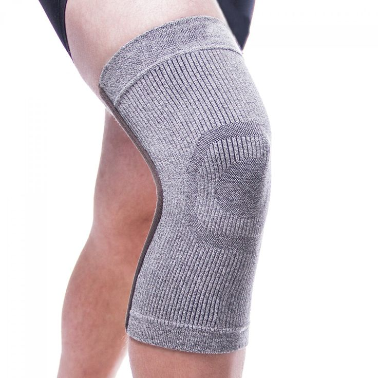 Incredibrace Compression Athletic Bamboo Charcoal Knee Sleeve-- This compression knee brace is made for everyday wear or with the athlete or medical patient in mind. Constructed of a unique bamboo, charcoal and germanium blend which increases blood flow. This great for bicyclists, cyclists, sports, or any activive individuals. Wear while you are working out with this sporty knee sleeve. View all of our compression sleeves at www.BraceAbility.com today! :)