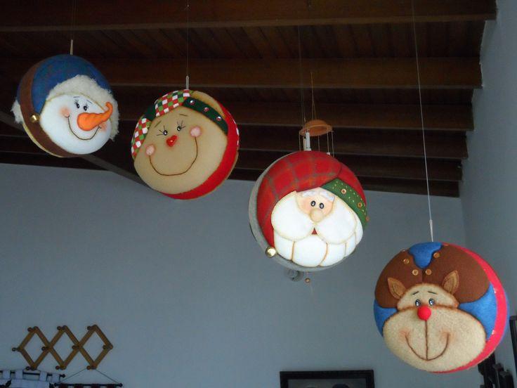 Cuatro motivos diferentes para decorar.