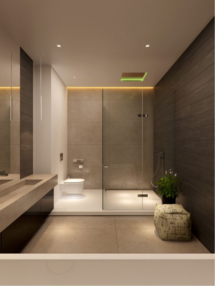 loo is part of the shower/wetroom - interesting layout