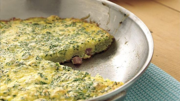 Herbed Ham Frittata-Enjoy this herbed ham frittata – perfect for ...