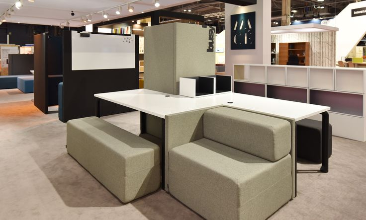Working Hybride by Majencia, avec notre solution d'assise Softwork