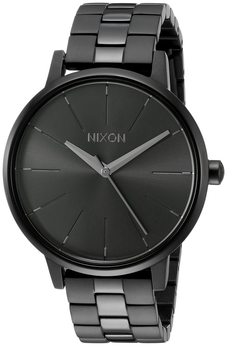 Nixon Women's A099001-00 Kensington Analog Display Japanese Quartz Black Watch…