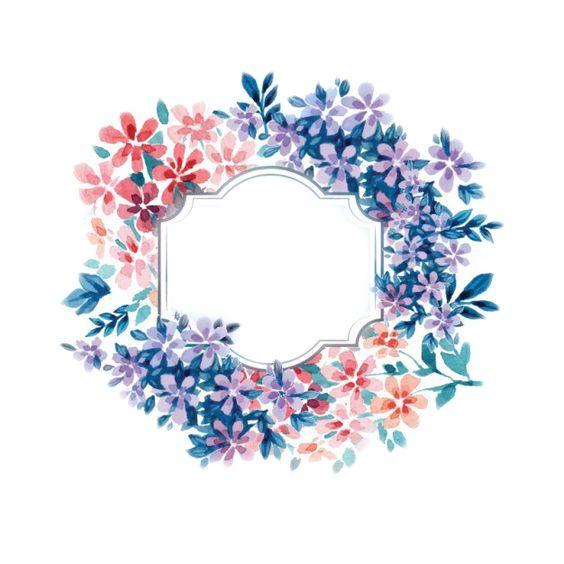 12 Best Watercolor Flowers Corona De Flores Png Images On