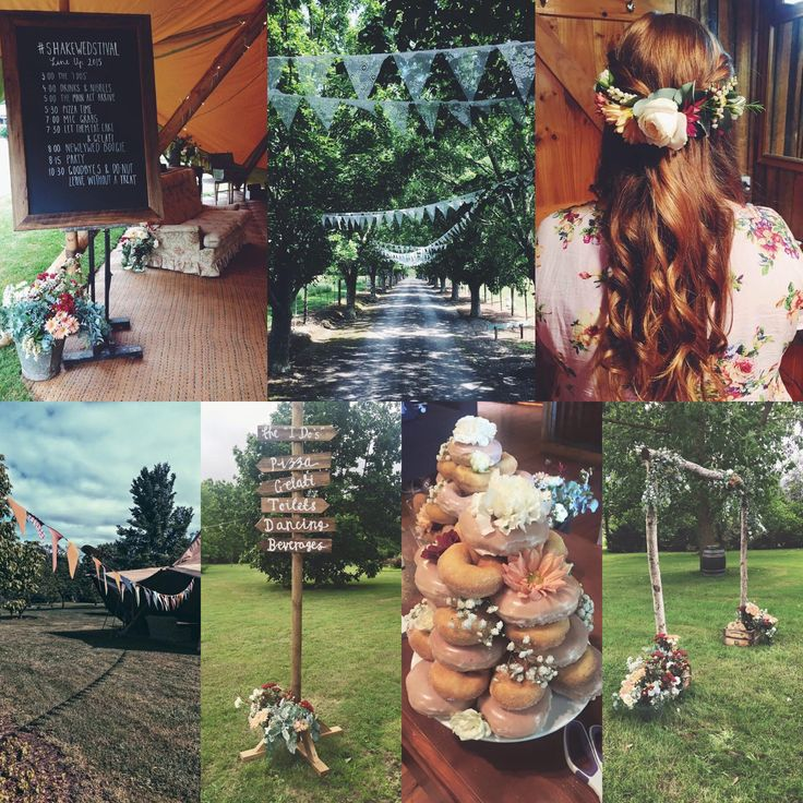 Favourite things from my wedding #hair #bunting #teepee #tipi