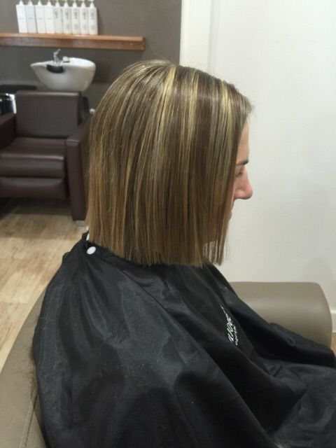 Beautiful colour and cut done by Cindy.