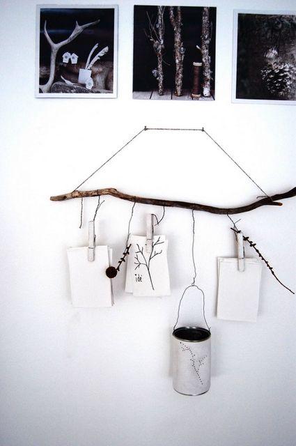 branch hanging rail