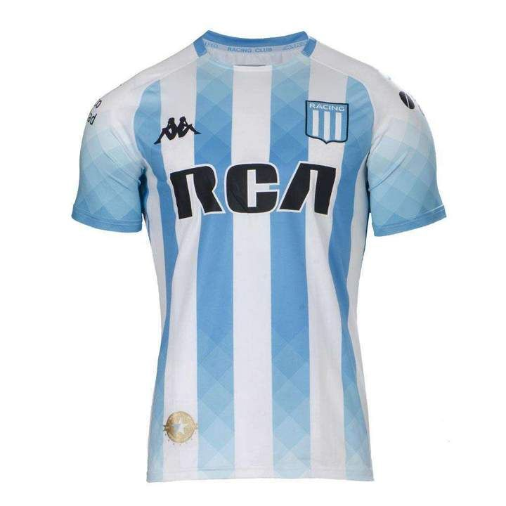 Racing Club De Avellaneda Football Club Kappa Home 2019 20 Fútbol Socc Www Worldsoccerfootballshop Com Camisetas Camisetas De Fútbol Uniformes Soccer