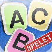 ABC-spelet är en app där du kan träna dig på bokstavsigenkänning, koppla ljud till symbol och sedan föra ihop ett antal utvalda bokstäver till helord. När du samlat på dig några helord, provar appen om användaren kan kan koppla till det skrivna ordet ur en kort lista. Det gäller att peka ut det ord som lästs upp.