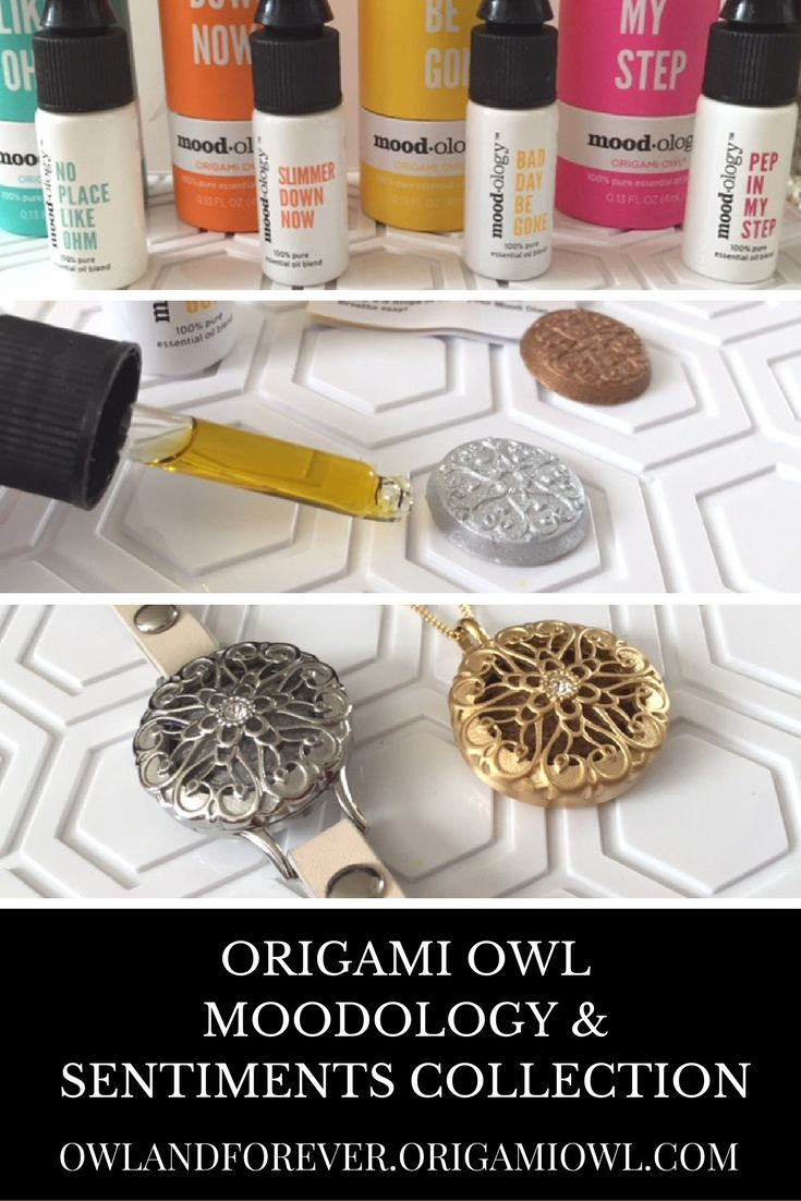 Origami Owl Moodology & Sentiments Collection! Learn how to WEAR your favorite Essential Oils Blend! Click to read about the Origami Owl Moodology and Origami Owl Sentiments Collection!