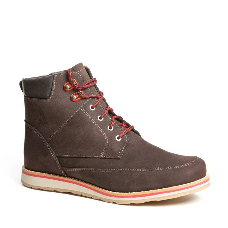 Clayton Mens Winter Cold-Weather Boots - Mens leather boots - Mens brown leather boots - Mens brown boots - Mens waterproof boots - Handmade wool lined boots. Anfibio Boots® waterproof handcrafted winter boots are made in Montreal, Canada. Luxurious craftsmanship guarantees long-lasting comfort. Anfibio's handmade winter walking boots are warm and durable. Shop men's winter boots, men's snow boots, men's boots, men's cold weather boots, men's winter fashion http://www.bottesanfibio.com