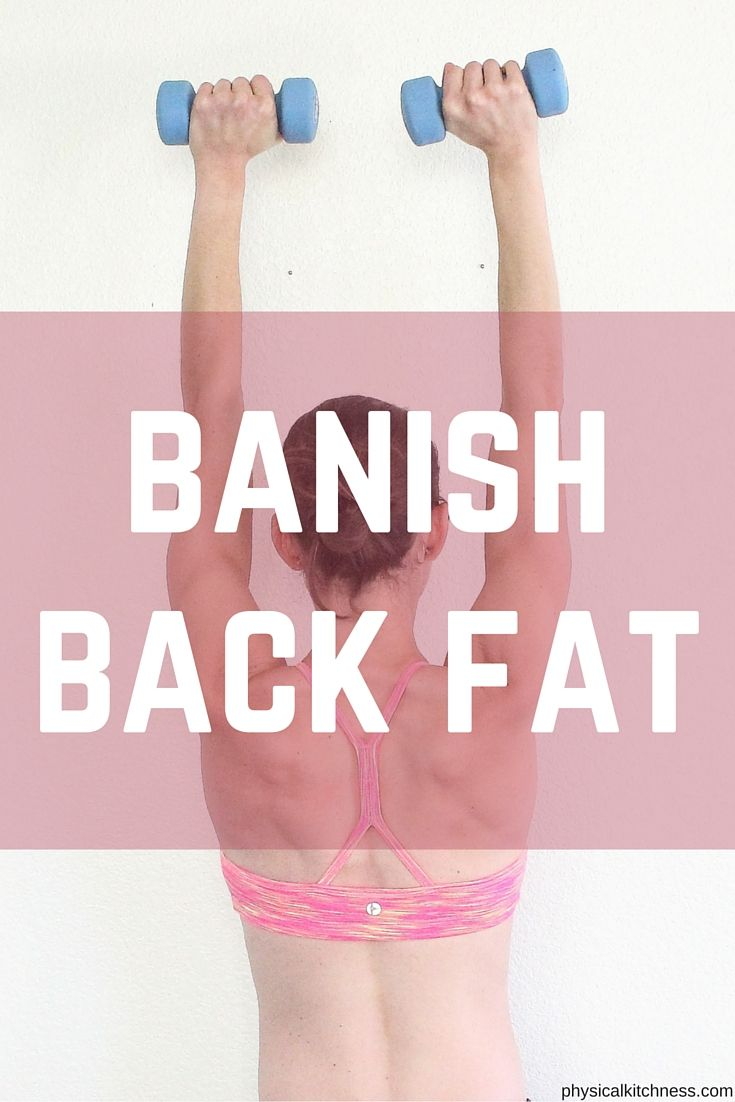 8 Moves to BANISH back fat. Tone and sculpt with this at-home, back sculpting workout.