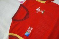 2015 Rugby World Cup Wales National Team Red Jersey [D290]