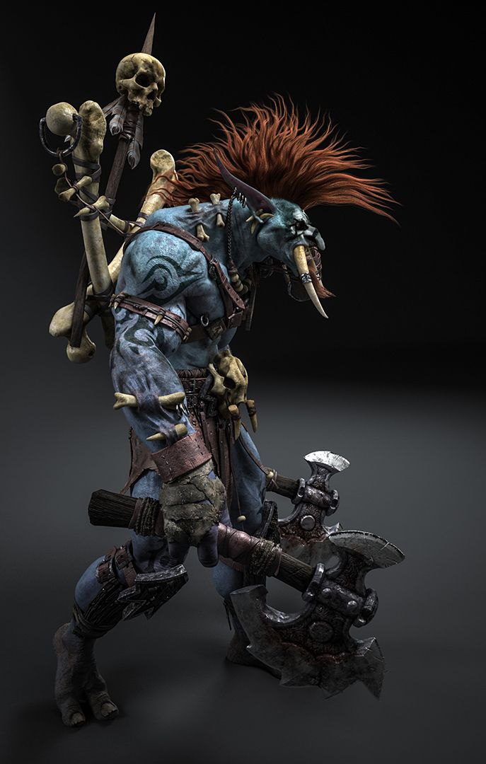 Troll Shaman Warrior