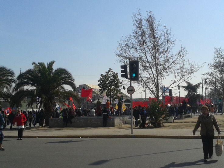 Marcha por los Detenidos Desaparecidos (Barrio Mapocho).