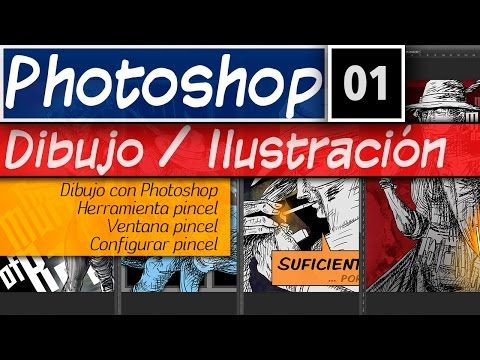 Dibujo e Ilustración Digital en Photoshop Minicurso - http://graphixdragon.com/dibujo-e-ilustracion-digital-en-photoshop-minicurso/