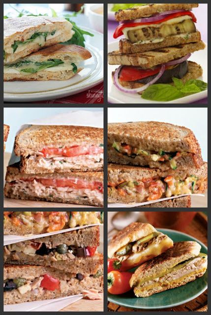 ...and then there was deb: Healthy Panini Recipes