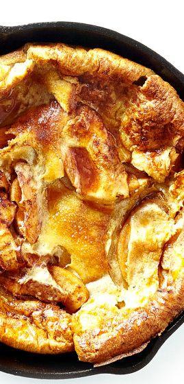 Apple Dutch baby recipe: like a gigantic, fluffy pancake.