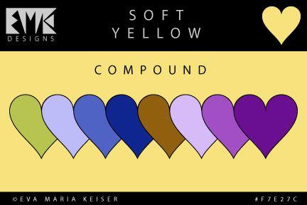 """Eva Maria Keiser Designs: Explore Color: """"Soft Yellow"""" - Compound"""