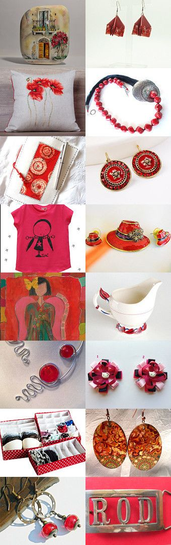Red is Passion  by Tatie on Etsy--Pinned+with+TreasuryPin.com