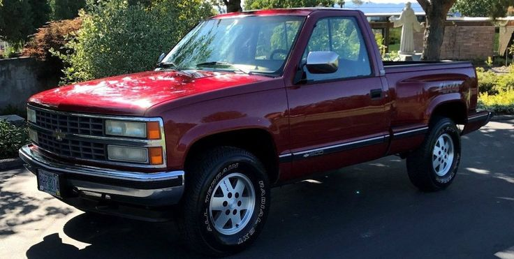 47K Miles From New: 1990 Chevy 1500 Pickup #Trucks #Chevrolet, #Survivors - http://barnfinds.com/47k-miles-new-1990-chevy-1500-pickup/