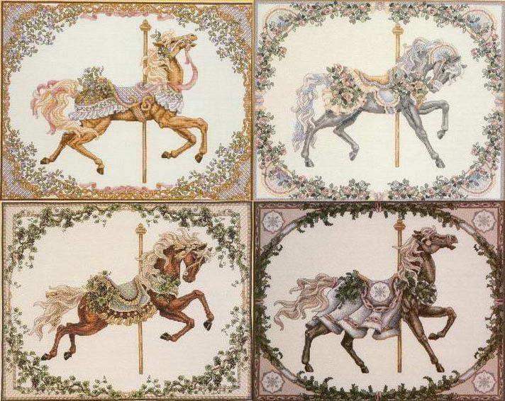 Gallery.ru / Фото #35 - Карусели и карусельные лошадки - kyzina