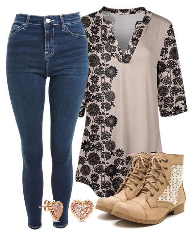"""""""Jenna Inspired Outfit - The Vampire Diaries / The Originals"""" by fangsandfashion ❤ liked on Polyvore featuring Azalea, Topshop and BERRICLE"""