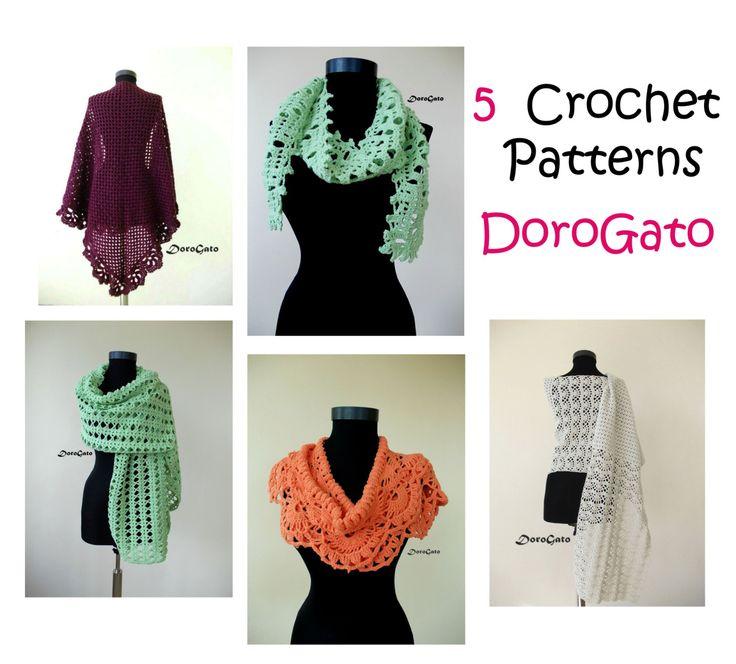 Mejores 35 imágenes de Crochet and Knit en Pinterest | Patrones de ...