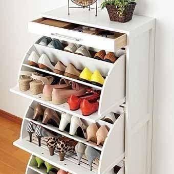 14 идей красивой тумбы для хранения обуви в прихожей