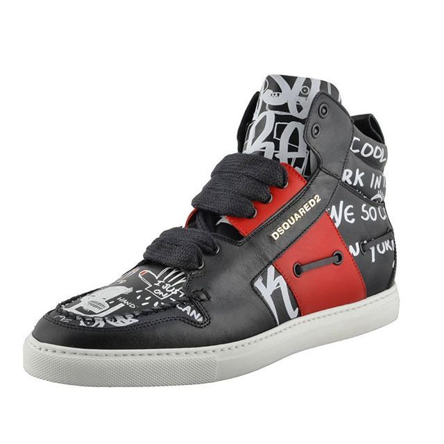 Dsquared2 Men's Leather Hi Top Fashion Sneakers Shoes. Material: Leather. Country of Manufacture: Italy. ✉️orders@onemoda.com  Worldwide delivery 📦🌍 Доставка по всему миру 📦🌍 #disquared #men #Leather #Sneakers #Shoes #shop #online #likes #fortin #life4like #vscocam #обувь #кроссовки #мужская #стиль #fashion #Milano #onemoda