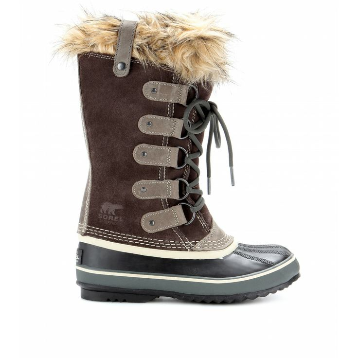 #Sorel - Joan of Arctic Premium suede and rubber boots