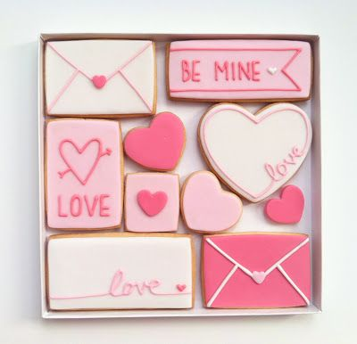 Eat Cake Be Merry: Valentine's Day Cookies!