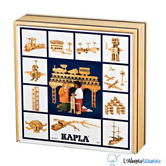 KAPLA - Costruzioni in legno - 100 PEZZI | lalberoazzurro.net