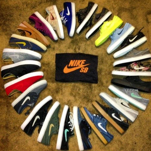 All the Janoski's you could want! #sneakers