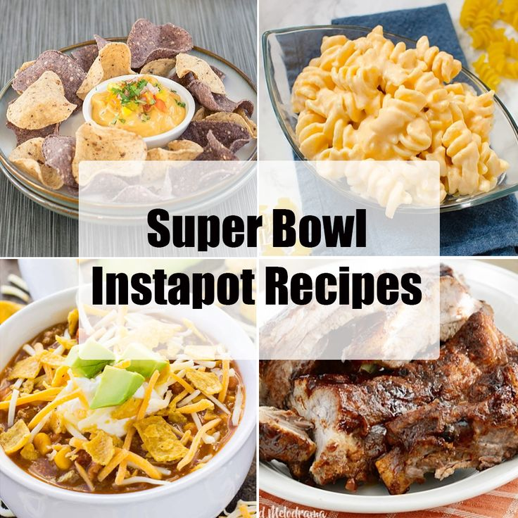 Get out your Instant Pot (or Instapot as we like to call it!) we've got 10 recipes for the Super Bowl this weekend! Hosting a football party? These easy, yummy party snacks are sure to please.