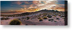 Desert Mountain Sunset Panorama by Dave Dilli - Desert Mountain Sunset Panorama Photograph - Desert Mountain Sunset Panorama Fine Art Prints and Posters for Sale