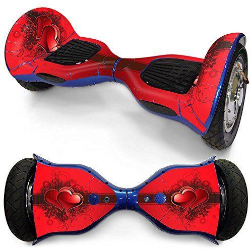 WZW Etiqueta engomada de la piel para 10 pulgadas Auto Equilibrio 2 ruedas Equilibrio eléctrico Scooter Hoverboard