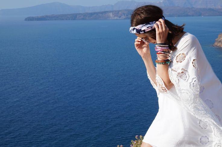 Favorite day in Santorini !!