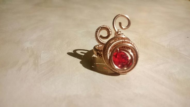 Adjustable wire copper ring