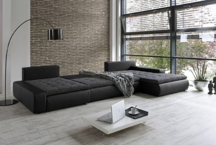 Ideen Für Ein Sofa Mit Ottomane   Multifunktionalität Liegt Im Trend
