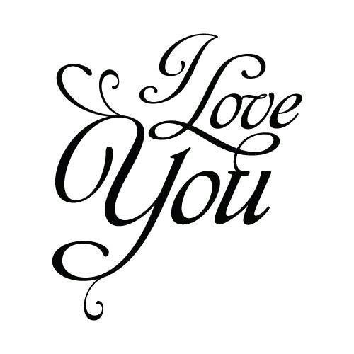 Ik hou van jou..