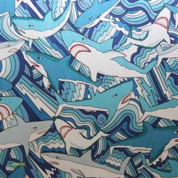 Yikes! fabric in ocean